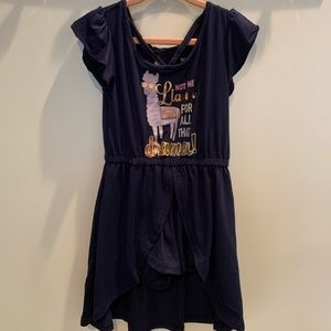 NWOT Romper: not the llama for all that drama!